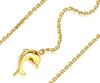 Bracelets de cheville en or