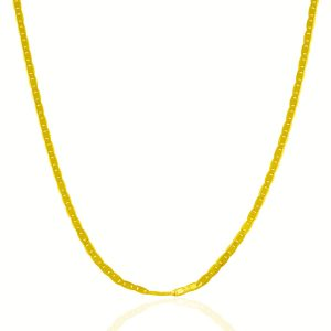 2.3mm 10K Yellow Gold Mariner Link Chain